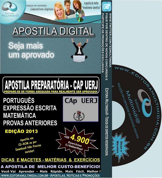 Apostila Preparatória CAP - UERJ - Teoria + 4.900 Exercícios
