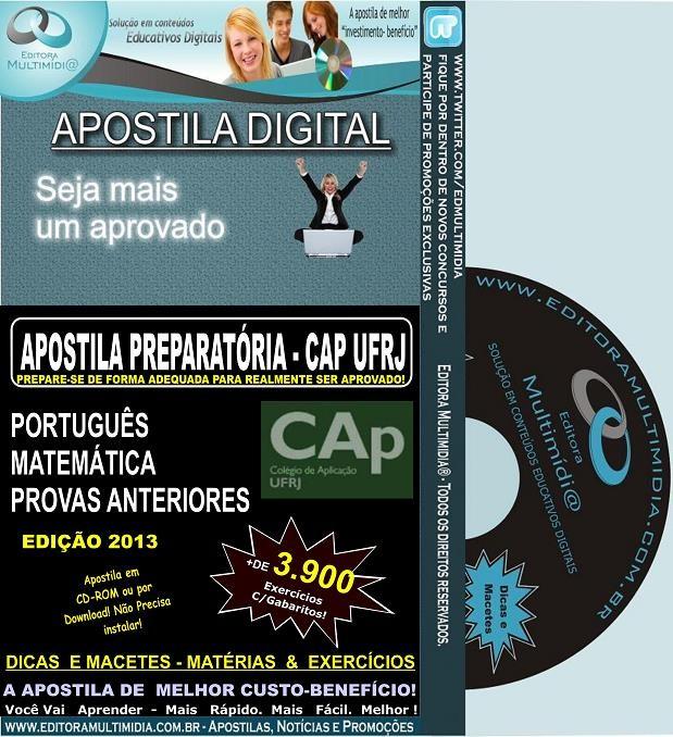 Apostila Preparatória CAP - UFRJ - Teoria + 3.900 Exercícios
