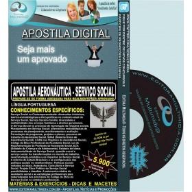 Apostila AERONÁUTICA - SERVIÇO SOCIAL - Teoria + 5.900 Exercícios - Concurso 2017
