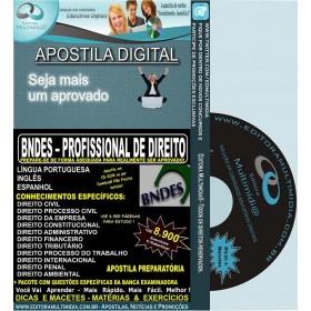 Apostila BNDES - Profissional Básico de DIREITO - Teoria + 8.900 Exercícios - 2016