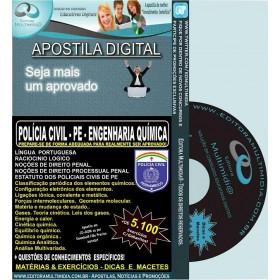 Apostila POLÍCIA CIVIL PE - ENGENHARIA QUÍMICA - Teoria + 5.100 Exercícios - Concurso 2016