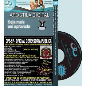 Apostila DPE SP - OFICIAL DEFENSORIA PÚBLICA - Teoria + 6.600 Exercícios - Concurso 2015