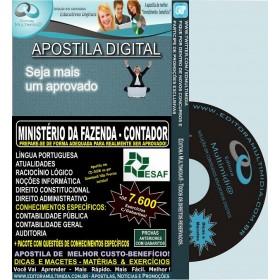 Apostila Min.Fazenda - Analista - Cargo: CONTADOR - Teoria + 7.600 Exercícios - Concurso 2013