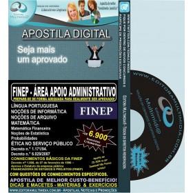 Apostila FINEP - Área APOIO ADMINISTRATIVO - Teoria + 6.900 Exercícios - Concurso 2013