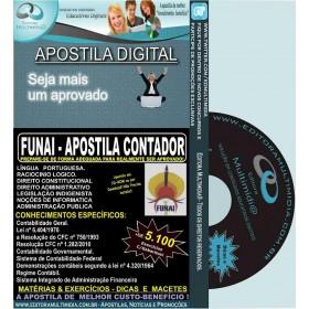 Apostila FUNAI - CONTADOR - Teoria + 5.100 Exercícios - Concurso 2016