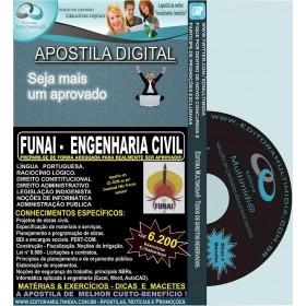 Apostila FUNAI - ENGENHARIA CIVIL - Teoria + 6.200 Exercícios - Concurso 2016