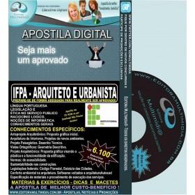 Apostila IFPA - ARQUITETO e URBANISTA - Teoria + 6.100 Exercícios - Concurso 2016