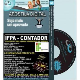 Apostila IFPA - CONTADOR - Teoria + 5.900 Exercícios - Concurso 2016