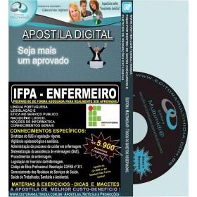 Apostila IFPA - ENFERMEIRO - Teoria + 5.900 Exercícios - Concurso 2016