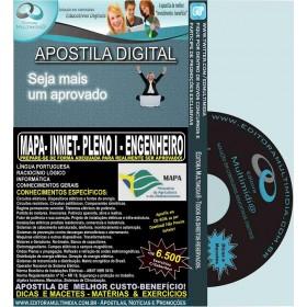 Apostila MAPA - INMET- PLENO I - ENGENHEIRO - Teoria + 6.500 Exercícios - Concurso 2015