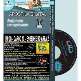 Apostila MPOG - CARGO 10 - ENGENHEIRO - Área 2 - Teoria + 5.500 Exercícios - Concurso 2015