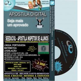 Apostila Concurso SEEDUC RJ/2013 - INSPETOR DE ALUNOS - Teoria + 2.900 Exercícios