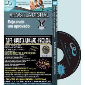 Apostila TJDFT - Analista Judiciário - PSICOLOGIA - Teoria + 5.800 Exercícios - Concurso 2015