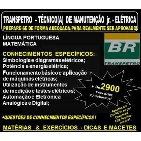 Apostila TRANSPETRO -TÉCNICO(A) de MANUTENÇÃO Jr. - Área ELÉTRICA - Teoria + 2.900 Exercícios - Concurso 2018