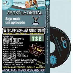 Apostila TSE - Técnico Judiciário - Área Administrativa - Teoria + 3.900 Exercícios - Concurso 2011-12