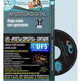 Apostila UFS - CONTADOR - Teoria + 7.500 Exercícios - Concurso 2014