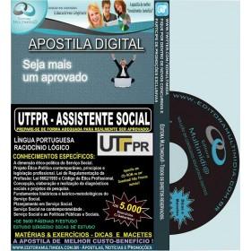 Apostila UTFPR - ASSISTENTE SOCIAL - Teoria + 5.000 Exercícios - Concurso 2016