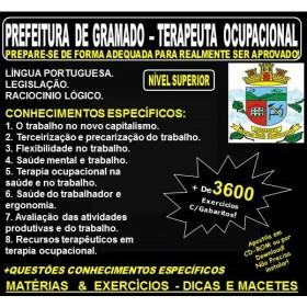 Apostila PREFEITURA de GRAMADO - TERAPEUTA OCUPACIONAL - Teoria + 3.600 Exercícios - Concurso 2018