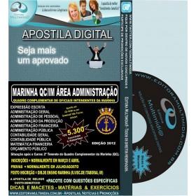 Apostila Marinha QC / IM - ÁREA ADMINISTRAÇÃO - Teoria + 5.300 Exercícios - Concurso 2012