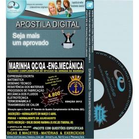 Apostila Marinha QC / QA - ENGENHARIA MECÂNICA -Teoria + 4.800 Exercícios - Concurso 2012
