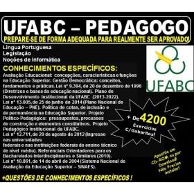 Apostila UFABC - PEDAGOGO - Teoria + 4.200 Exercícios - Concurso 2018