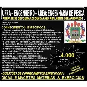 Apostila UFRA - ENGENHARIA de PESCA - Teoria + 4.000 Exercícios - Concurso 2019