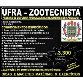 Apostila UFRA - ZOOTECNISTA - Teoria + 3.300 Exercícios - Concurso 2019